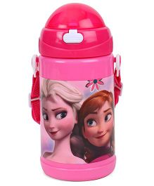 Disney Frozen Best Friend Water Bottle Pink - 480 ml