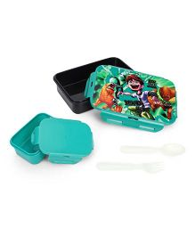Ben 10 Lunch Box - Dark Green & Black