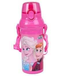 Disney Frozen Pink Water Bottle - 480 ml