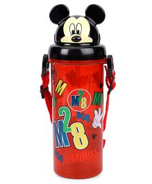 Disney Mickey Mouse Sipper Bottle Red - 400 ml
