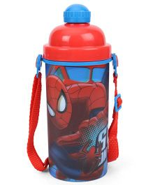 Marvel Spider Man Sipper Bottle Blue & Red - 400 ml