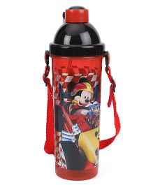 Disney Mickey Mouse & Friends Sipper Bottle Red - 400 ml