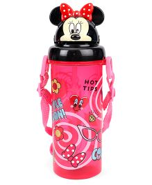 Disney Minnie Mouse Sipper Bottle Pink - 400 ml