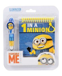 Minions Pen And Diary Set Yellow - 2 Pieces