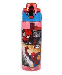 Marvel Spider Man Water Bottle Red & Blue - 750 ml