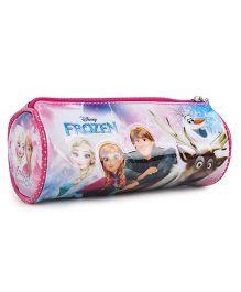 Disney Frozen Pink Pencil Round Pouch - Pink
