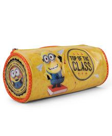 Minion Pencil Round Pouch - Yellow