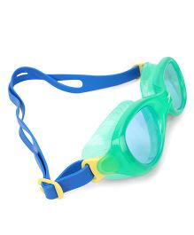 Speedo Unisex Swimming Goggles - Green Blue
