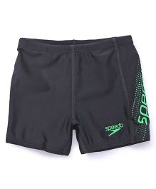Speedo Boys Swimming Trunks - Black Green