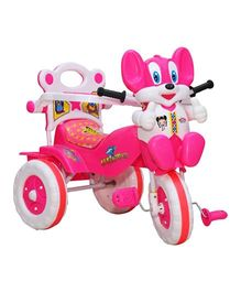 Amardeep Tricycle Animal Face - Pink