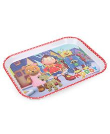 Noddy Rectangular Plate - Multicolour