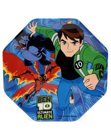 Ben 10 Ultimate Alien Hexagon Shaped Plate - Multicolour