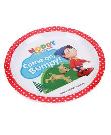 Noddy Round Plate - Multicolour