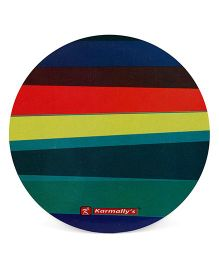 Karmallys Reusable Laminated Coasters Big - Multi Color
