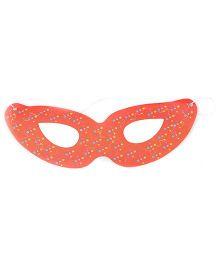 Karmallys Eye Mask Dotted Print - Orange