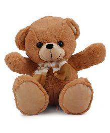 Funzoo Teddy Bear With Muffler Brown - 30 cm