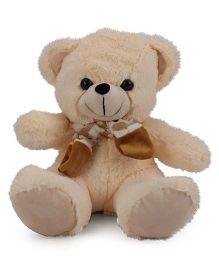Funzoo Teddy Bear With Muffler Cream - 30 cm