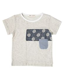 Cubmarks Heather  T-Shirt - Grey