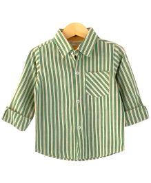 Cubmarks Striped Shirt - Green