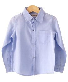 Cubmarks Light Blue Formal Shirt  - Light Blue
