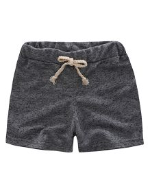Awabox Plain Casual Shorts For Summers - Grey