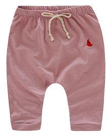 Pre Order - Awabox Boat Logo Applique Shorts - Pink