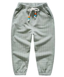 Pre Order - Awabox Checkered Pant - Green
