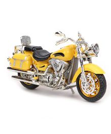 Playmate Die Cast Bike With Light & Sound - Yellow