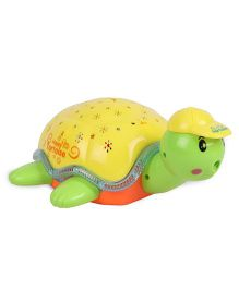 Playmate Baby Plaything Projection Turtle - Yellow Green