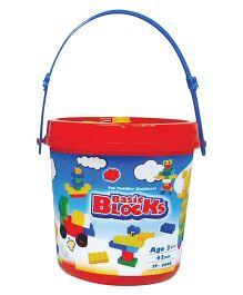 Sunta Basic Blocks Bucket Pack - 42 Pieces