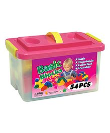 Sunta Basic Blocks In A Container Pack - 54 Pieces