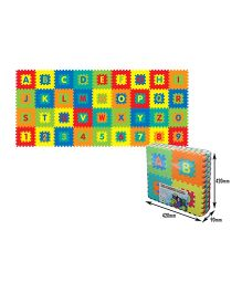 Sunta Alphabets And Numbers Shrinkwrap - 36 Pieces