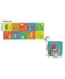 Sunta Numbers And Shapes Shrinkwrap - 10 Pieces