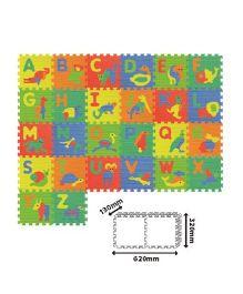 Sunta Alphabet & Animal Mats Multi Color - 26 Pieces