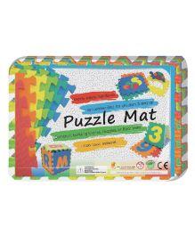 Sunta Puzzle Mat Number And Alphabet - Multi Color