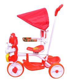 Luusa Happy Mickey Tricycle - Red
