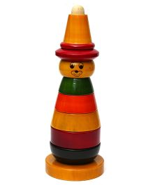 Wembley Wooden Organic Stacking Joker - Multicolor
