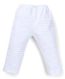 Tiny Bee Boys Infant Wear Striped Pants - Blue & White