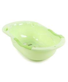 Baby Bath Tub Dino Print - Green