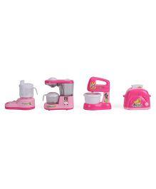 Smiles Creation Household Toys Set Of 4 - Pink & White