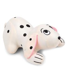 Tickles Soft Toy Sniffing Dog White - 28 cm