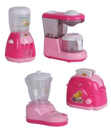 Smiles Creation Household Toys Pink - Set Of 4