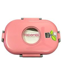 Thought Counts Lunch Box With Spoon - Pink