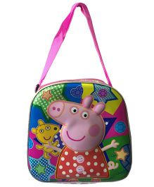 Thought Counts Pepe Pig Tiffin Bag - Pink