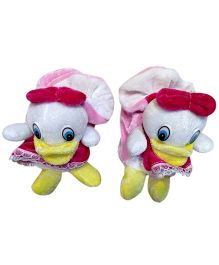 Thought Counts Duck Design Lil Booties - Light Pink