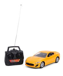 Smiles Creation Remote Controlled Car - Yellow