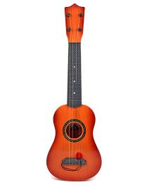 Tickles Musical Instrument Guitar 4 String - Brown