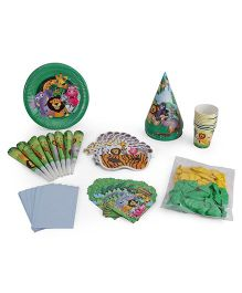 Themez Only Jungle Theme Birthday Party Kit - Pack Of 7