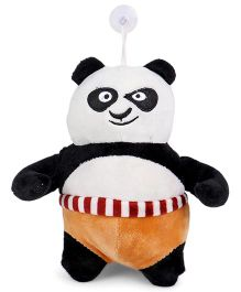 Tickles Clip On Soft Toy Panda White And Black - 22 cm