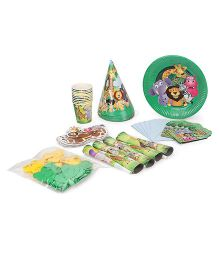 Themez Only Jungle Theme Party Kit - Pack Of 7